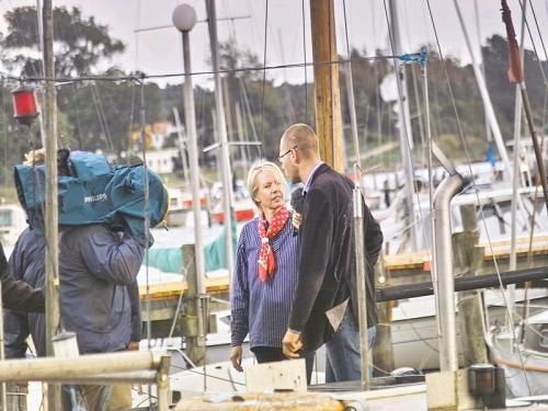 2010 - NDR Land und Leute Liveauftritt beim Besten am Norden über Rerik mit Tina Wolf
