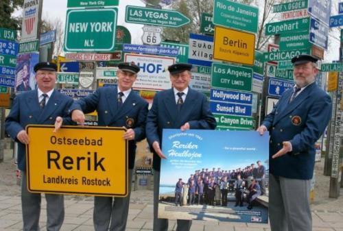 2012 - Fernwehpark Hof Ehrung der Reriker Heulbojen mit eigenem Starschild in der Sings of fame des Fernwehpark Hof