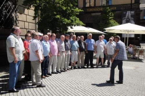 2013 - Chorreise nach Dresden Impressionen aus der Sächsischen Schweiz, Dresden und Moritzburg