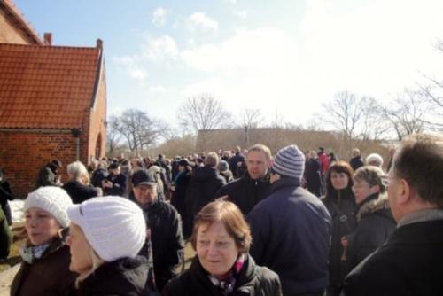 2013 - Glockenweihe Rerik Einweihung der neuen Kirchenglocken am 31. März 2013