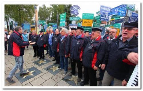 2015 - Chorreise Franken, Hof 06. Oktober 2015 Besuch im Fernwehpark Hof