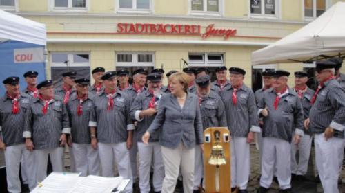 2016 - Die Bundeskanzlerin zu Gast in Bad Doberan - 03. Sep.2016