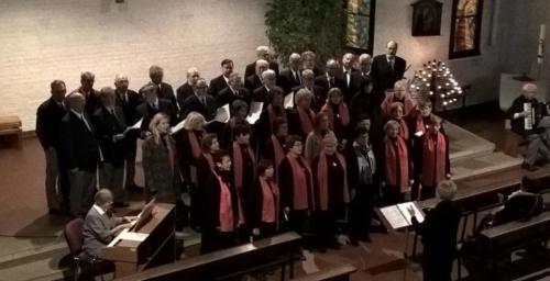 2016 - Benefizkonzert Kinderkrebshilfe Rostock Gemeinsammes Konzert mit dem Warnemünder Frauenchor in der Thomas Morus Kirche Rostock am 04.12.2016