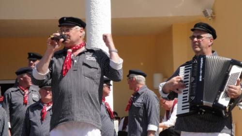 2016 - Shanty trifft Blasmusik aus der Rhön - Besuch der Sälzer Dorfmusikanten an der Ostsee