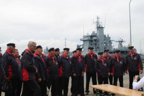 2017 - Zur Hanse-Sail bei der Marine 11. August 2017