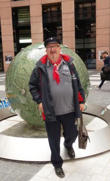 2017 - Heulbojen im Europaparlament Strasbourg 24.10.2017