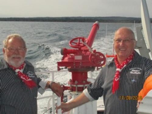 2018 - Mit den Seenotrettern unterwegs